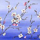 Japanese Cherry Blossom by Helen Ashley