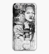 Sweet oblivion, 2017, 50-50 cm, graphite crayon on paper iPhone Case/Skin