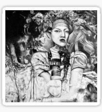 Sweet oblivion, 2017, 50-50 cm, graphite crayon on paper Sticker