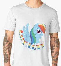 Elements of Harmony - Rainbow Dash Men's Premium T-Shirt