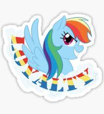 Elements of Harmony - Rainbow Dash Sticker