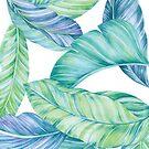 Tropical Leaf by Helen Ashley