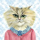 Cat Luncheon Veronica by Helen Ashley