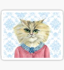 Cat Luncheon Veronica Sticker