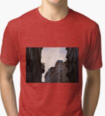 Buildings in Vienna at sunset with cloudy sky Tri-blend T-Shirt