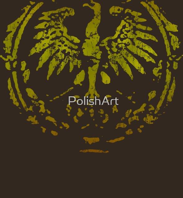 Polish Eagle Circle t shirt by PolishArt