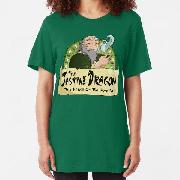 geführt von dem außergewöhnlichen Teebrauer Onkel Iroh von Avatar: The Last Airbender. Slim Fit T-Shirt