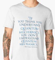 Quantum Mechanics by Richard  Feynman Men's Premium T-Shirt