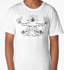 Focus and Release Mediation Long T-Shirt