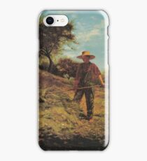 Haymaking 1864 Winslow Homer iPhone Case/Skin
