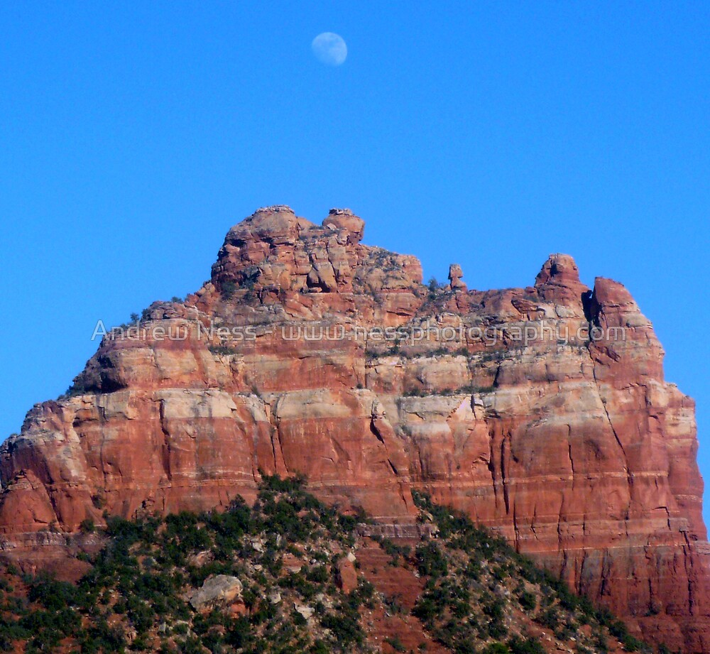 Nearly Nightime in Sedona by Andrew Ness - www.nessphotography.com
