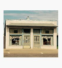 Small Town Antique Shop Photographic Print