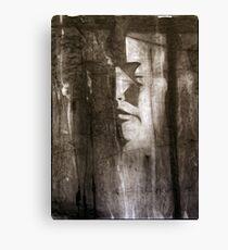 death mask Canvas Print