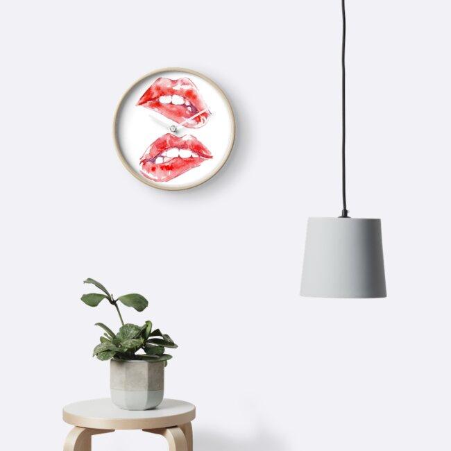 Beißende Lippen von doriana