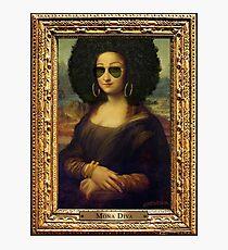 Mona Diva Photographic Print