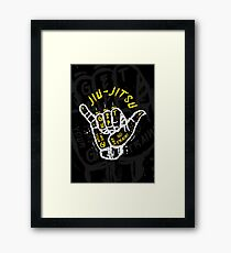 Jiu-jitsu. Go train! 2 Framed Print