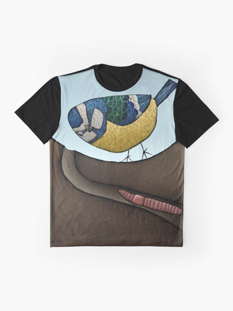 Alternate view of Blue Tit Graphic T-Shirt