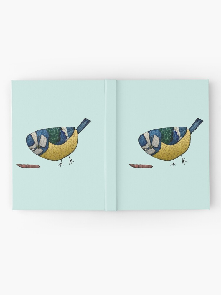 Alternate view of Blue Tit Hardcover Journal