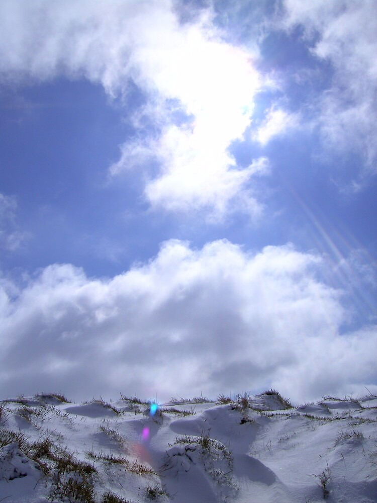 Snow and Sky by Ben Sellars