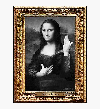 Mona Hero Photographic Print