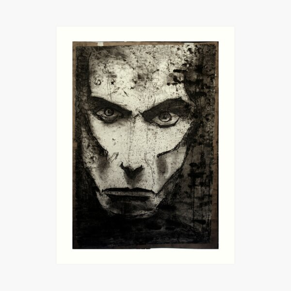 portrait of j osterburg Art Print
