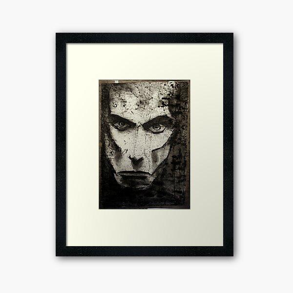 portrait of j osterburg Framed Art Print