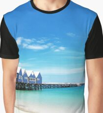 Busselton Jetty Graphic T-Shirt