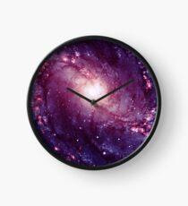 Spiral Galaxy  Clock