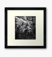 jacob the angel Framed Print