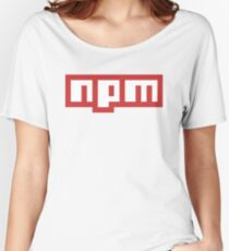 NPM Women's Relaxed Fit T-Shirt