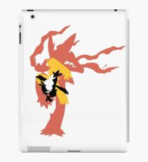 Mega Blaziken Evolution line iPad Case/Skin
