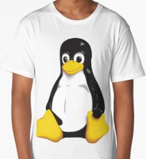 Linux Penguin Long T-Shirt