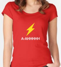 Geek Tees – Flash T-Shirt Women's Fitted Scoop T-Shirt