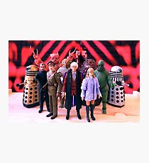Third Doctor Figures Photographic Print