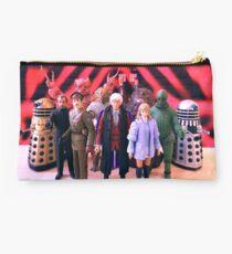 Third Doctor Figures Studio Pouch