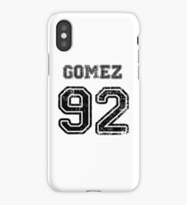 Gomez 92 iPhone Case/Skin