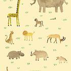 Afrikanische Tiere von Sophie Corrigan