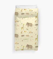 African Animals Duvet Cover