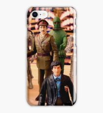 Second Doctor Figures iPhone Case/Skin