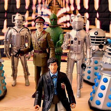Second Doctor Figures by matepaint