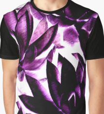 Echeverias in Purple Graphic T-Shirt