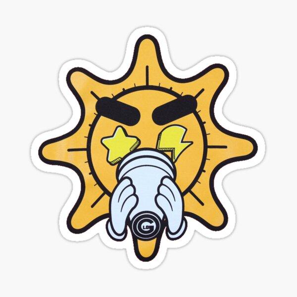 Glo cup glogangworldwide Sticker