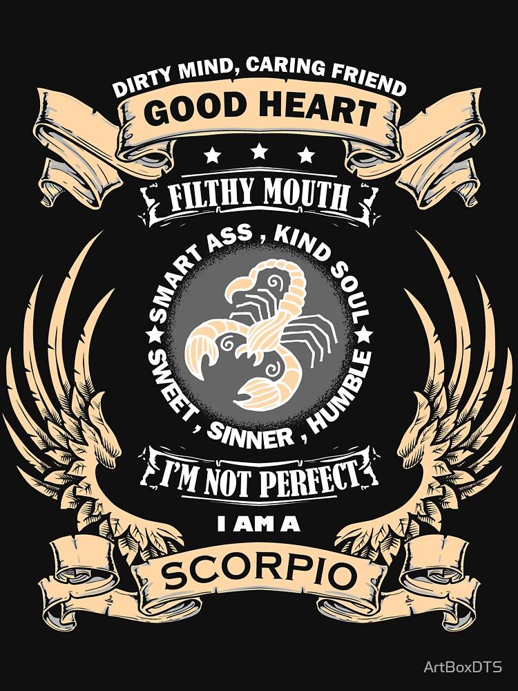 Zodiac Sign - Scorpio by ArtBoxDTS