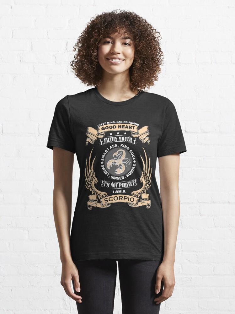 Alternate view of Zodiac Sign - Scorpio Essential T-Shirt