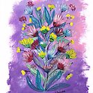 Lilac Mums by SallyJTaylor