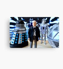 First Doctor Figures Canvas Print