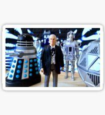 First Doctor Figures Sticker