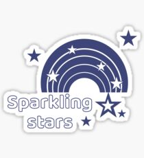 All Time Sparkling Stars Trend Best Selling Sticker