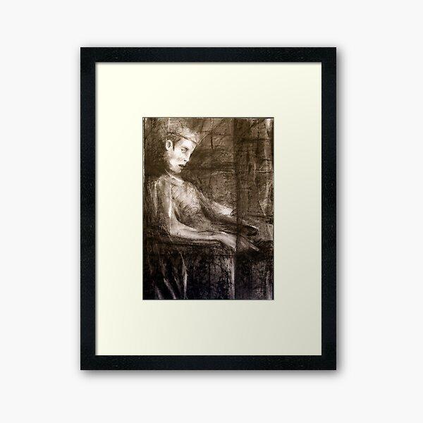 king only Framed Art Print