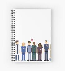 Scrubs, TV series Spiral Notebook